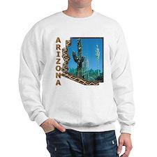Arizona Saguaro Cactus Sweatshirt