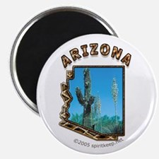 Arizona Saguaro Cactus Magnet
