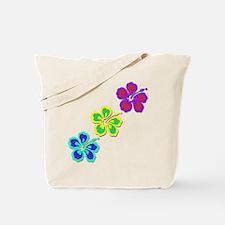 Draping Hibiscus Tote Bag