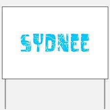 Sydnee Faded (Blue) Yard Sign