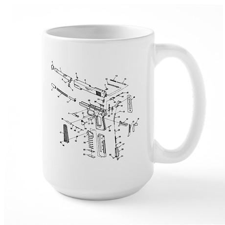 .45 AUTO Large Mug
