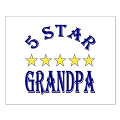 5 Star Grandpa Posters