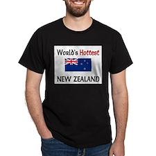 World's Hottest New Zealand T-Shirt