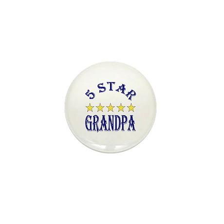 5 Star Grandpa Mini Button (100 pack)