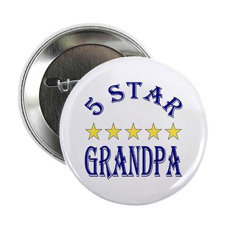 "5 Star Grandpa 2.25"" Button (10 pack)"