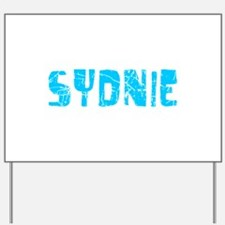 Sydnie Faded (Blue) Yard Sign