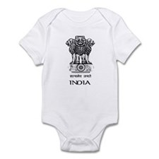 Emblem of India Infant Bodysuit
