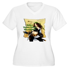 Sexy Pirate Wench T-Shirt