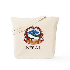 Nepal Coat of Arms Tote Bag