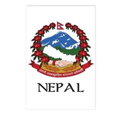 Nepal Coat of Arms Postcards (Package of 8)
