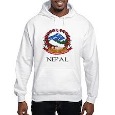 Nepal Coat of Arms Hoodie