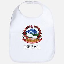 Nepal Coat of Arms Bib