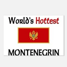 World's Hottest Montenegrin Postcards (Package of