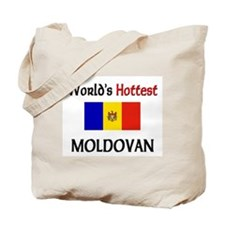 World's Hottest Moldovan Tote Bag