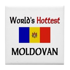 World's Hottest Moldovan Tile Coaster