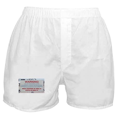 What Happens In Area 51 Stays Boxer Shorts