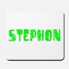 Stephon Faded (Green) Mousepad