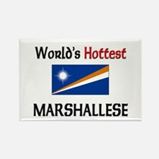World's Hottest Marshallese Rectangle Magnet