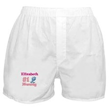 Elizabeth - #1 Mommy Boxer Shorts