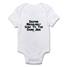 Diaper Regularly Goes To The Infant Bodysuit