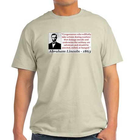 Lincoln: Saboteurs Should Be... Color T