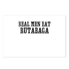 Real Men Eat Rutabaga Postcards (Package of 8)