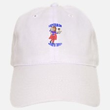 SuperMom_Triplets Baseball Baseball Cap