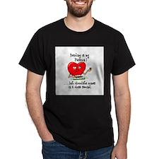 Beading and Chocolate T-Shirt