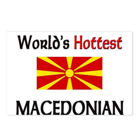 World's Hottest Macedonian Postcards (Package of 8