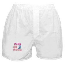 Kelly - #1 Mommy Boxer Shorts