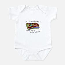 Quilting Aerobics Infant Bodysuit