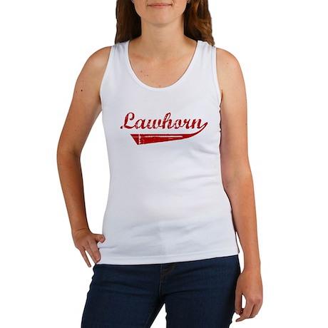 Lawhorn (red vintage) Women's Tank Top