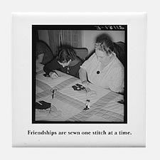 Quilting - Friendship Stitche Tile Coaster