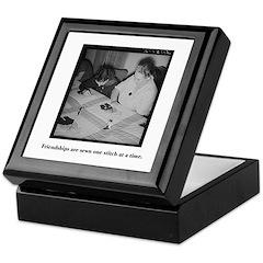 Quilting - Friendship Stitche Keepsake Box
