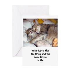 Momcat Greeting Card