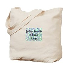 Quilting Pins and Needles Tote Bag
