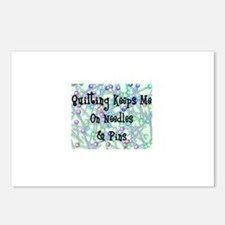 Quilting Pins and Needles Postcards (Package of 8)