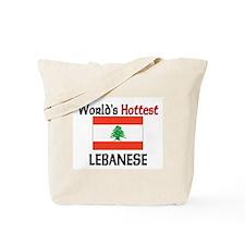 World's Hottest Lebanese Tote Bag