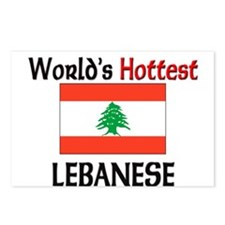 World's Hottest Lebanese Postcards (Package of 8)
