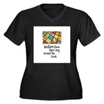Quilters - Around the Block Women's Plus Size V-Ne