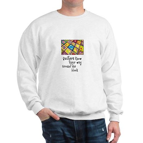 Quilters - Around the Block Sweatshirt
