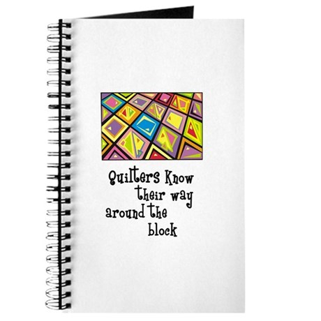 Quilters - Around the Block Journal