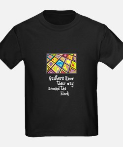 Quilters - Around the Block T