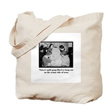 Quilt Gang - Seamy Side Tote Bag