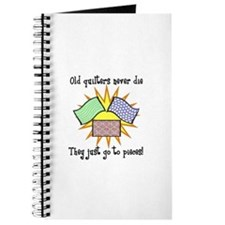 Old Quilters - Go To Pieces Journal
