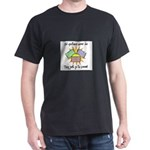 Old Quilters - Go To Pieces Dark T-Shirt