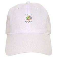 Old Quilters - Go To Pieces Baseball Cap
