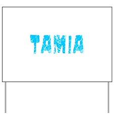 Tamia Faded (Blue) Yard Sign