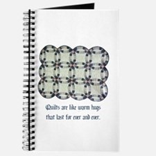 Quilts Are Like Warm Hugs Journal