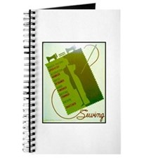Vintage Sewing WPA Poster Journal